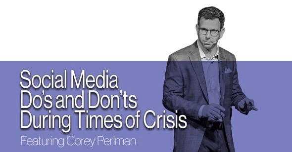 Social Media Do's and Don'ts in Times of Crisis (Webinar)